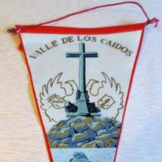 Banderines de colección: BANDERIN TURISTICO VALLE DE LOS CAIDOS. AÑOS 60.. Lote 93866690