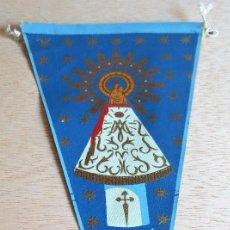 Banderines de colección: BANDERIN TURISTICO ZARAGOZA. AÑOS 60.. Lote 93866745