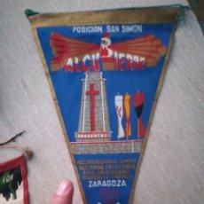 Banderines de colección: BANDERIN 1963 POSICIÓN SAN SIMON. GUARDIA DE FRANCO. . Lote 94516911