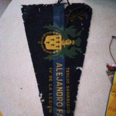 Banderines de colección: BANDERIN TERCIO SAHARIANO . Lote 94517718