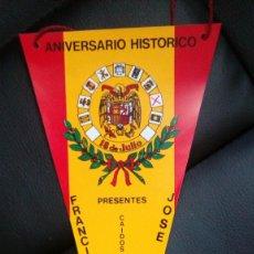 Banderines de colección: CONFEDERACION NACIONAL DE HERMANDADES DE COMBATIENTES 20N 1977. Lote 95139891