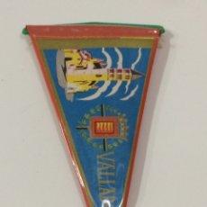 Banderines de colección: BANDERÍN VALLADOLID 14X7'5CM. Lote 95848748
