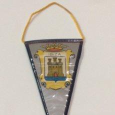 Banderines de colección: BANDERÍN DE IBIZA 17X7CM. Lote 95848828