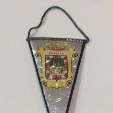 Banderines de colección: BANDERÍN DE GRANADA 17X7CM. Lote 95848928