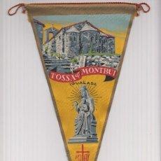 Banderines de colección: BANDERIN: STA MARIA DE MONTBUI, IGUALADA- ILUSTRACION DE LA ERMITA Y DE LA VIRGEN DE NTRA. SRA. .... Lote 95924387