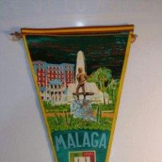 Banderines de colección: BANDERIN MALAGA CIUDAD E MARGI G-60 ......BA 17. Lote 95941203