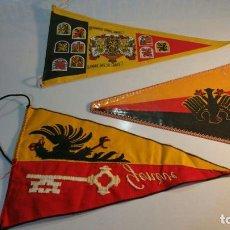 Banderines de colección: 3 BANDERINES GENEVE-EENDRACHT . Lote 95949183