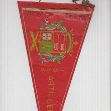Banderines de colección: BANDERIN: CEUTA 1963 - BANDERIN DEL CUERPO DE ARTILLERIA 30 DEL EJERCITO. Lote 95973523