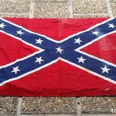 Banderines de colección: BANDERA CONFEDERADOS USA. USA CONFEDERATE FLAG. Lote 96261959