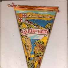 Fanions de collection: ANTIGUO BANDERIN SAN FELIU DE GUIXOLS COSTA BRAVA. Lote 96917523