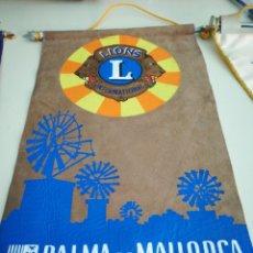 Banderines de colección: LIONS INTERNATIONAL. PALMA DE MALLORCA. DISTRITO 116.. Lote 98607998