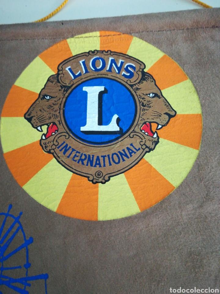 Banderines de colección: Lions international. Palma de Mallorca. Distrito 116. - Foto 2 - 98607998