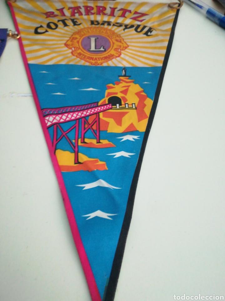 Banderines de colección: Biarritz. Banderin lions international. - Foto 2 - 98608131