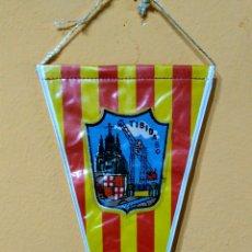 Banderines de colección: BANDERIN PARQUE DE ATRACCIONES TIBIDABO BARCELONA AÑOS 60. Lote 100405652