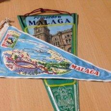 Banderines de colección: ANTIGUOS BANDERINES MALAGA. Lote 101046659