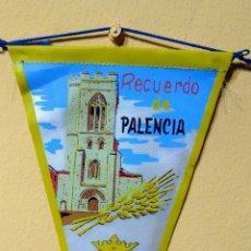 Banderines de colección: BANDERIN RECUERDO DE PALENCIA. Lote 101223051