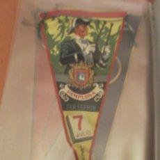 Banderines de colección: BANDERIN SAN FERMIN PAMPLONA 1958. Lote 101320367