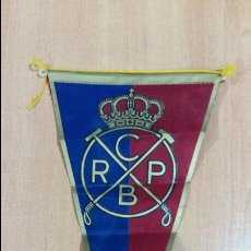 Banderines de colección: BANDERIN POLO. REAL CLUB POLO BARCELONA. 28 CM LARGO. W. Lote 104380119