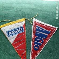 Banderines de colección: LOTE DE BANDERINES DE ' ANGLO ' RADIOS - TOCADISCOS - RADIOGRAMOLAS - REPRODUCTORES HI-FI. Lote 105664735