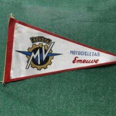 Banderines de colección: BANDERIN ' MOTOCOCLETAS EMEUVE - AGUSTA '. Lote 105665023