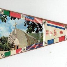 Banderines de colección: BANDERIN, PONT DE SUERT. Lote 105877295