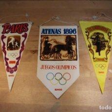 Banderines de colección: BANDERINES OLIMPIADAS BIMBO. Lote 106094159