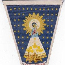 Banderines de colección: BANDERÍN ZARAGOZA AÑOS 60. Lote 110174399