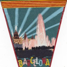 Banderines de colección: BANDERÍN BARCELONA AÑOS 60. Lote 110174551