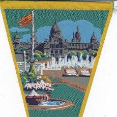 Banderines de colección: BANDERÍN BARCELONA AÑOS 60. Lote 110174659