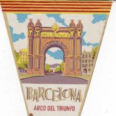 Banderines de colección: BANDERÍN BARCELONA AÑOS 60. Lote 110174819