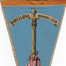 Banderines de colección: BANDERÍN BARCELONA AÑOS 60. Lote 110174967