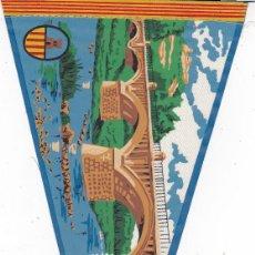 Banderines de colección: BANDERÍN SANT VICENT DE CASTELLET AÑOS 60. Lote 110175695