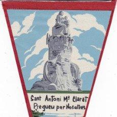 Banderines de colección: BANDERÍN SALLENT BARCELONA SANT ANTONI Mª CLARET AÑOS 60. Lote 110176291