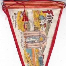 Banderines de colección: BANDERÍN ELECTRO QUÍMICA FLIX TARRAGONA AÑOS 60. Lote 110176479