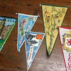 Banderines de colección: LOTE COLECCION ANTIGUOS BANDERINES. Lote 110536695