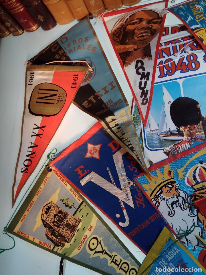 Banderines de colección: ESPECTACULAR LOTE DE 62 BANDERINES DE CIUDADES DE ESPAÑA, EVENTOS, RELIGIOSOS, MARCAS, JJOO, ETC. - Foto 2 - 110625755