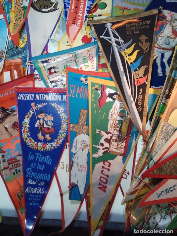 Banderines de colección: ESPECTACULAR LOTE DE 62 BANDERINES DE CIUDADES DE ESPAÑA, EVENTOS, RELIGIOSOS, MARCAS, JJOO, ETC. - Foto 6 - 110625755