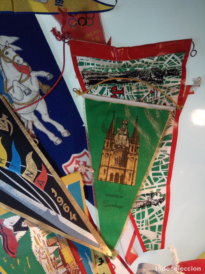 Banderines de colección: ESPECTACULAR LOTE DE 62 BANDERINES DE CIUDADES DE ESPAÑA, EVENTOS, RELIGIOSOS, MARCAS, JJOO, ETC. - Foto 10 - 110625755