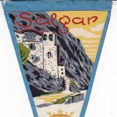 Banderines de colección: BANDERÍN SALGAR AÑOS 60. Lote 110745995