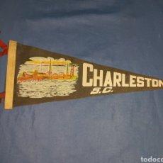 Banderines de colección: ANTIGUO BANDERIN CHARLESTON S.C.. Lote 110828736