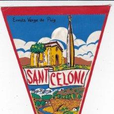 Banderines de colección: BANDERÍN HERMITA VERGE DE PUIG SANT CELONI AÑOS 60 . Lote 110958015