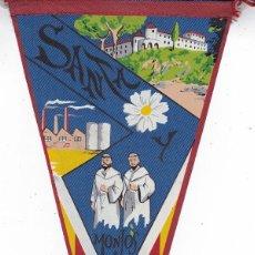Banderines de colección: BANDERÍN SANTA Y MONJOS AÑOS 60 . Lote 111108623