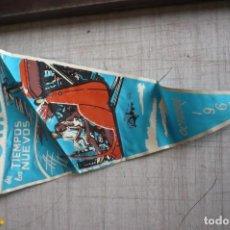 Banderines de colección: BANDERIN ENTELADO DOMUND OCTUBRE 1966. Lote 112445895