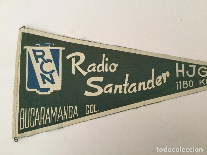 Banderín radio santander bucaramanga rcn 10kw - Sold at