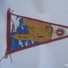 Galhardetes de coleção: EXCELENTE BANDERIN AÑOS 60. VALLADOLID. Lote 112745835