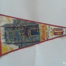 Galhardetes de coleção: EXCELENTE BANDERIN AÑOS 60. VALLADOLID. Lote 112746547
