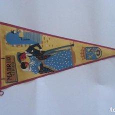 Galhardetes de coleção: EXCELENTE BANDERIN AÑOS 60. MADRID TIPICO. Lote 112746927