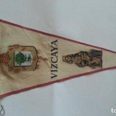 Galhardetes de coleção: EXCELENTE BANDERIN AÑOS 60. VIZCAYA. Lote 112769327