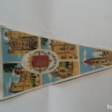 Galhardetes de coleção: EXCELENTE BANDERIN AÑOS 60. VALLADOLID. Lote 112771039