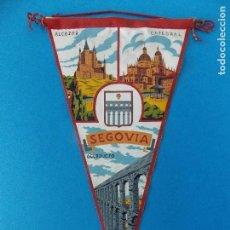 Banderines de colección: ANTIGUO BANDERIN DE TELA - SEGOVIA - AÑOS 60 ... R-8472. Lote 113406871